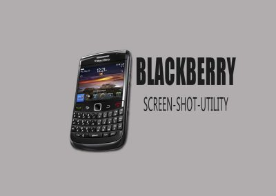 Blackberry Screen-Shot Utility